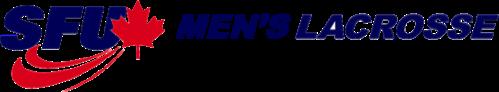 SFU Mens Lacrosse Logo - 100